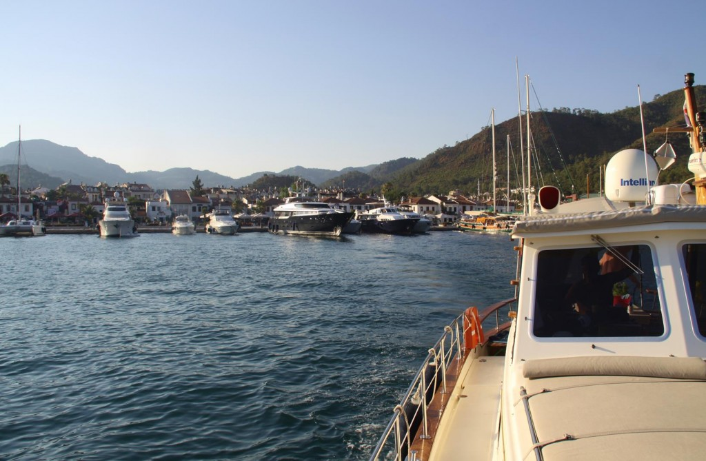 With Late Afternoon Calm Water Conditions We Made Our Departure from Marmaris