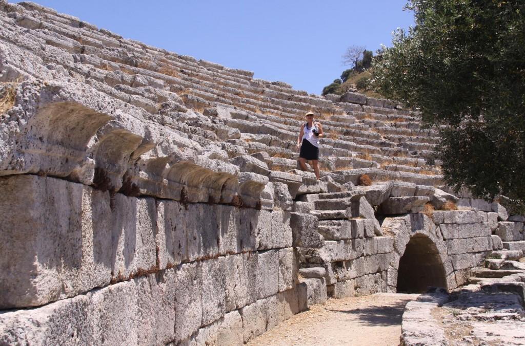 The Ancient Theatre at Caunos