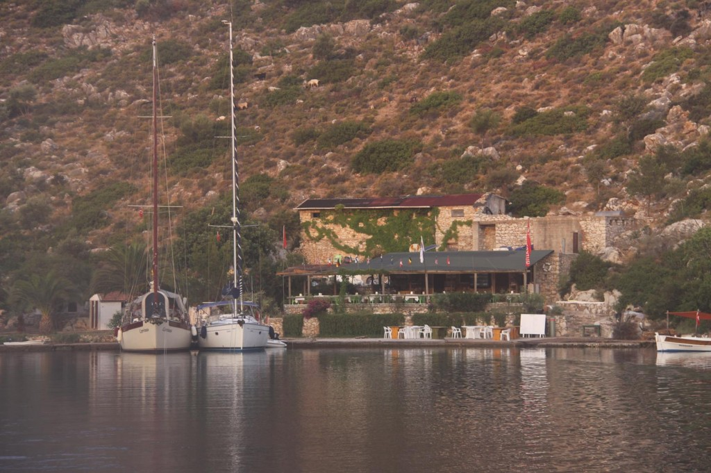 Departure from Dirsek Around 7am Ensured Arrival in Knidos Before Lunch