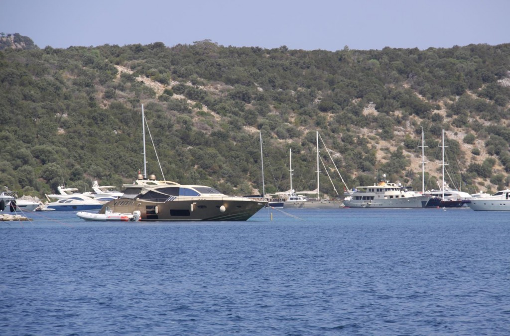 Although Many of the Boats Have Departed the Turk Buku Area it Still is Quite hard to Find a Comfortable Mooring