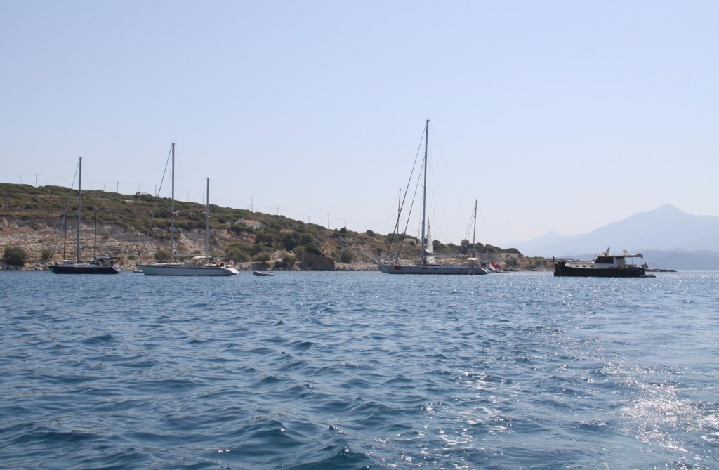 We Decide it More Comfortable and Less Expensive to Circumnavigate Samos Island by Car than to take the Tangaroa