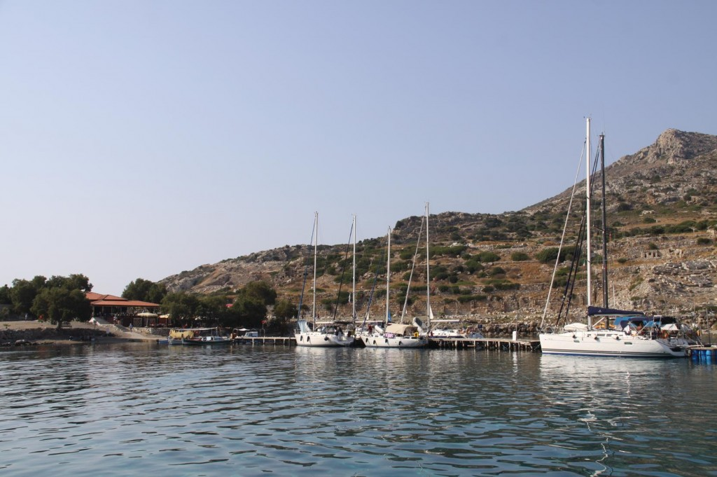 By Late Afternoon, the Crowded Knidos Bay Became Quite Peaceful