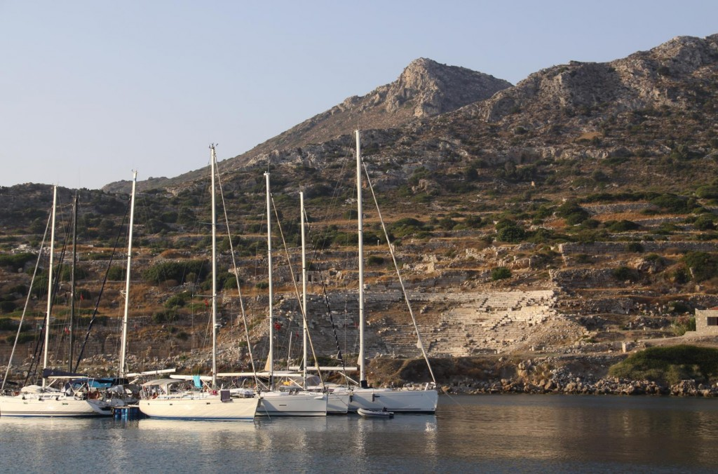 The Knidos Ancient Site is Now Closed for the Day