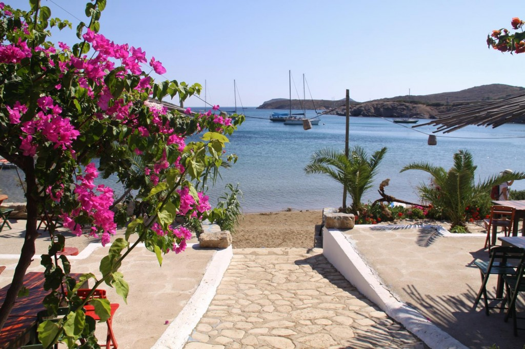 What a Beautiful Outlook from the Small Taverna