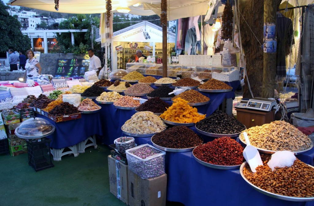 Wonderful Spices are Available at the Nearby Market