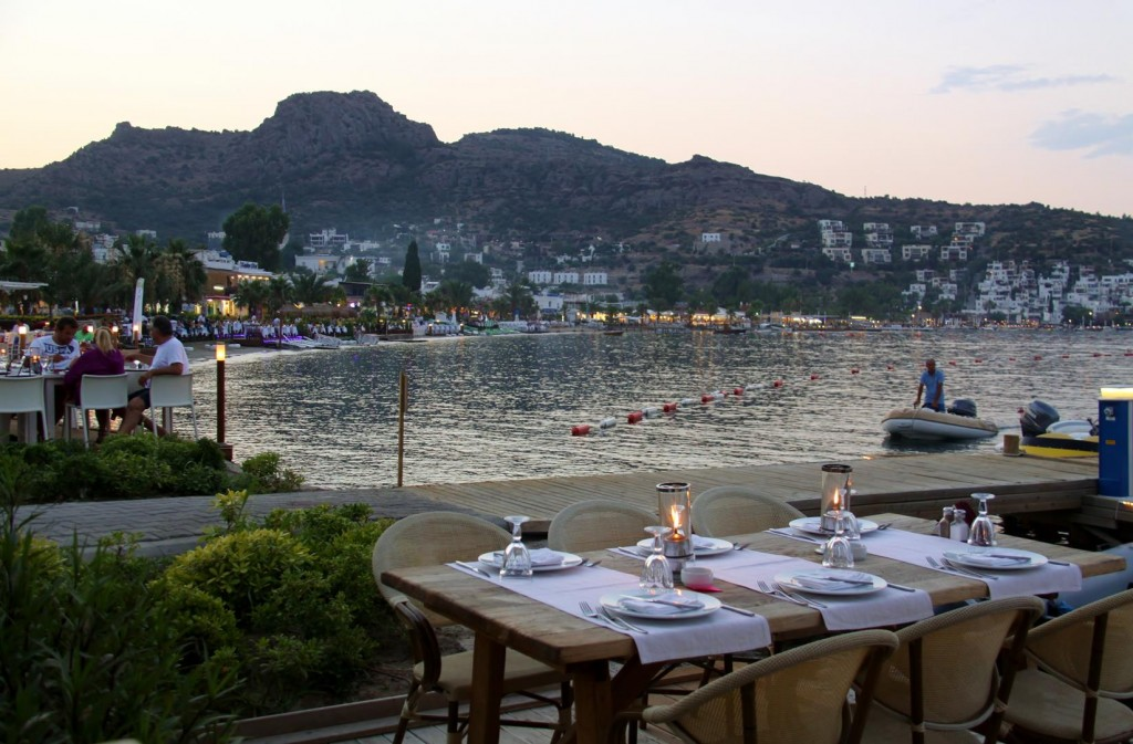 There are so Many Restaurants to Choose from Along the Water's Edge