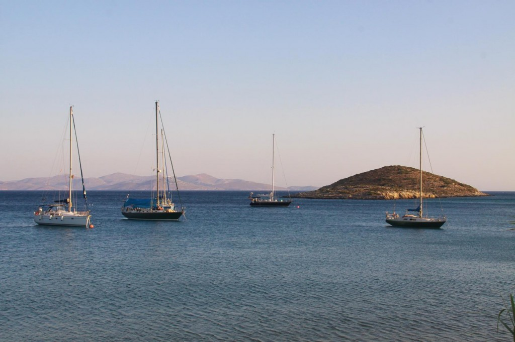Next Time in Lipsoi we will Moor in this Lovely Bay