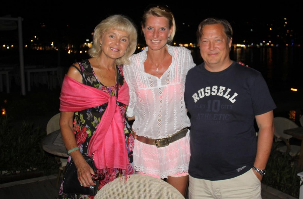 A Fun Night was had at Miam, Chatting with a Delightful Couple, Joeri and Felice from Belgium