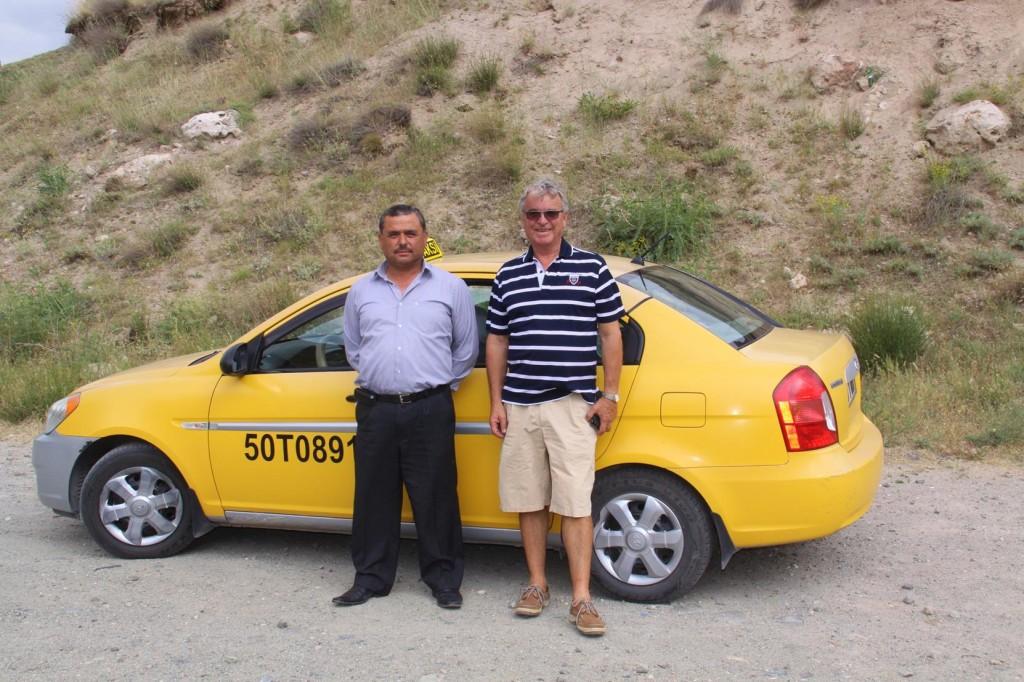 Our Friendly Tour Taxi Driver