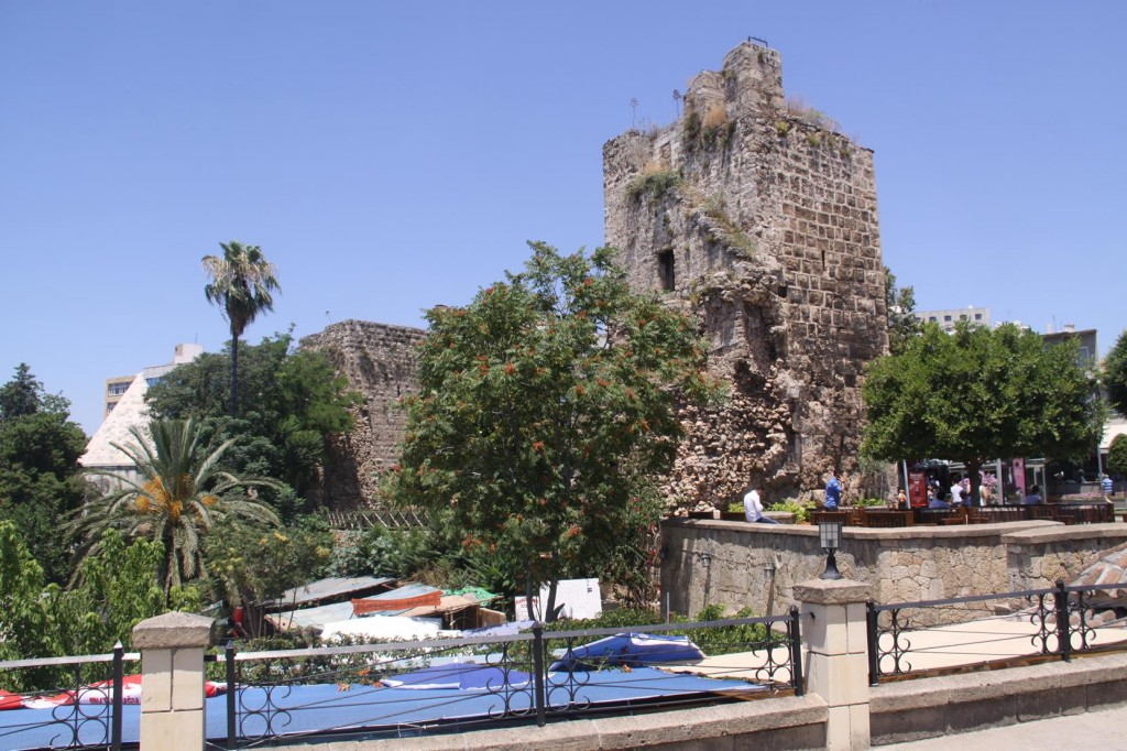 Ancient Ruins in the Old Town