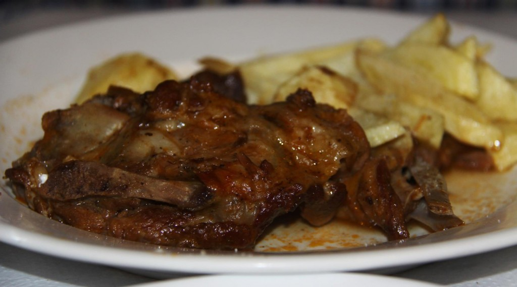 The Slow Cooked Goat for Ric