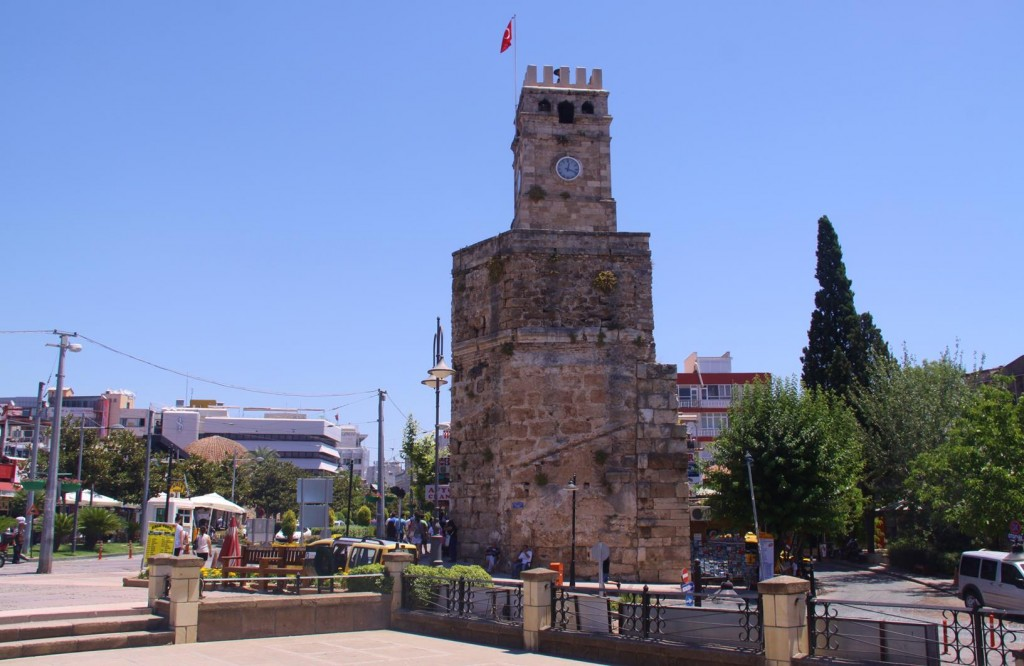 The Old Clock Tower in the Old Town