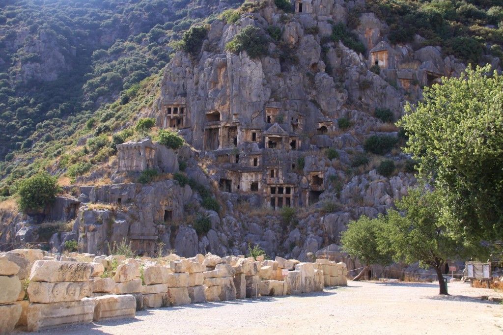 Ancient Tombs at the Old Site of Myra