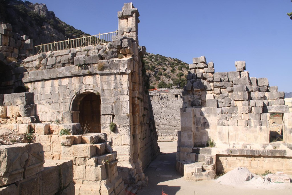 We Visit the Ancient Site of Myra Before Returning to the Boat in Finike