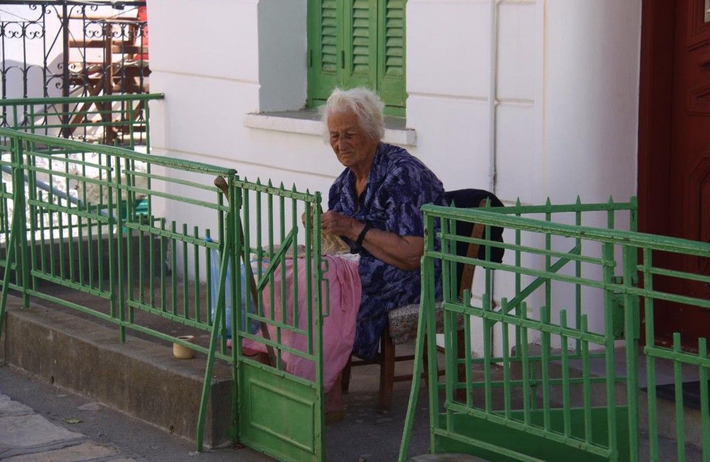 The Elderly have Learnt to Tolerate Visitors to their Small Villages