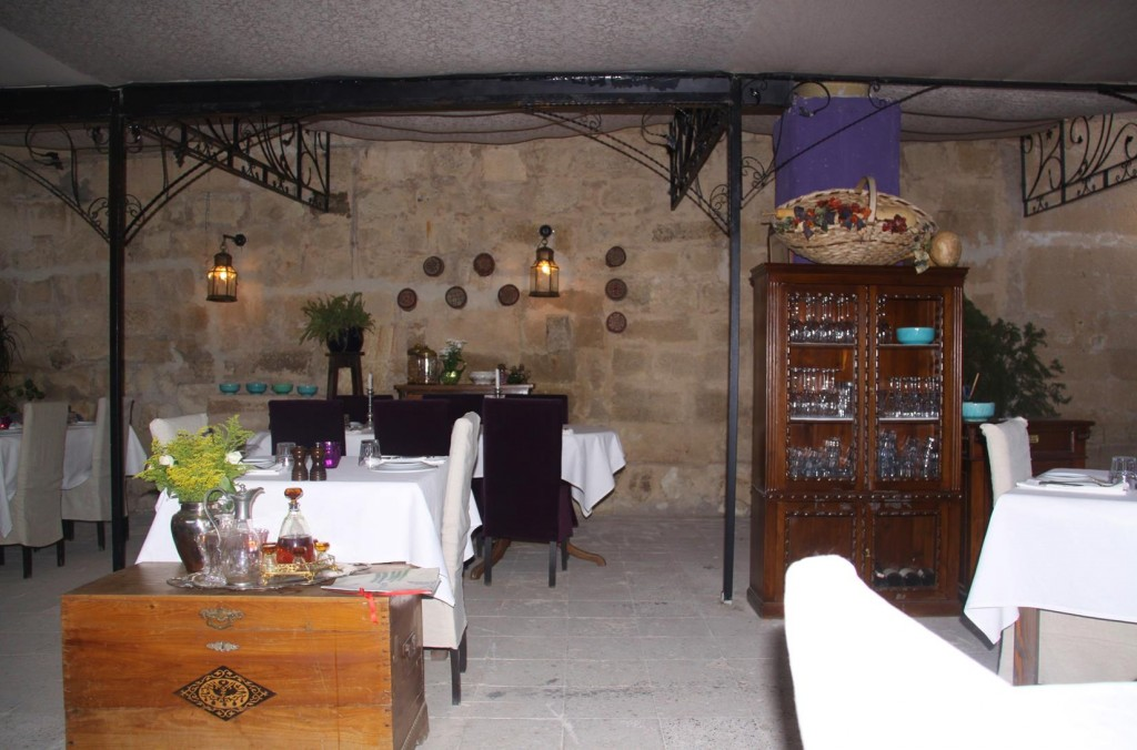 We are Early for Dinner Tonight as Most Guests Usually Arrive Later after 9pm