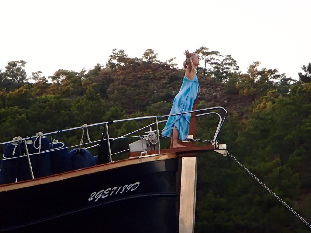 Another Kate on the Bow Sprit