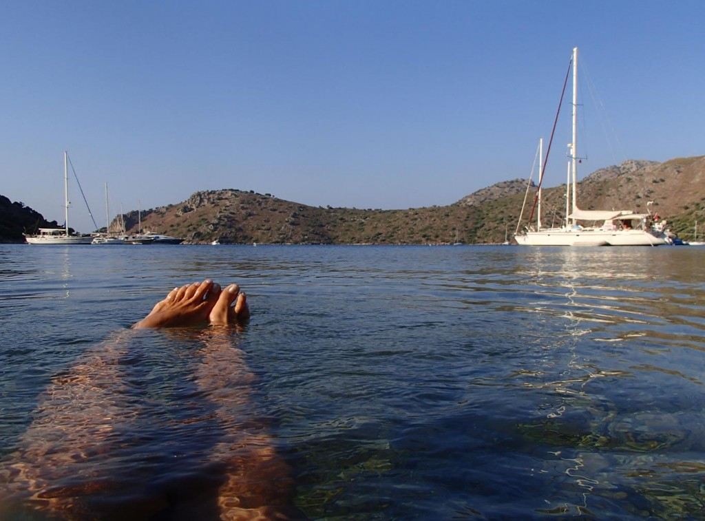Dirsek is a Delightful Enclosed and Sheltered Bay Which can get Quite Busy in the Peak Summer Periods