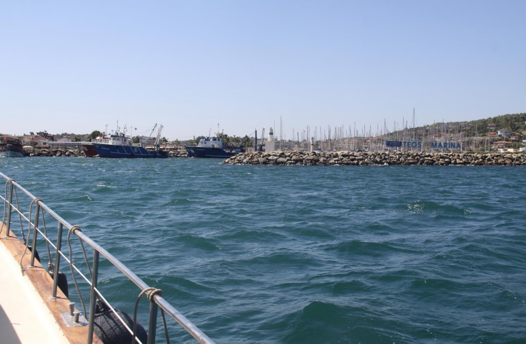 Back to Teos Marina in Sigacik