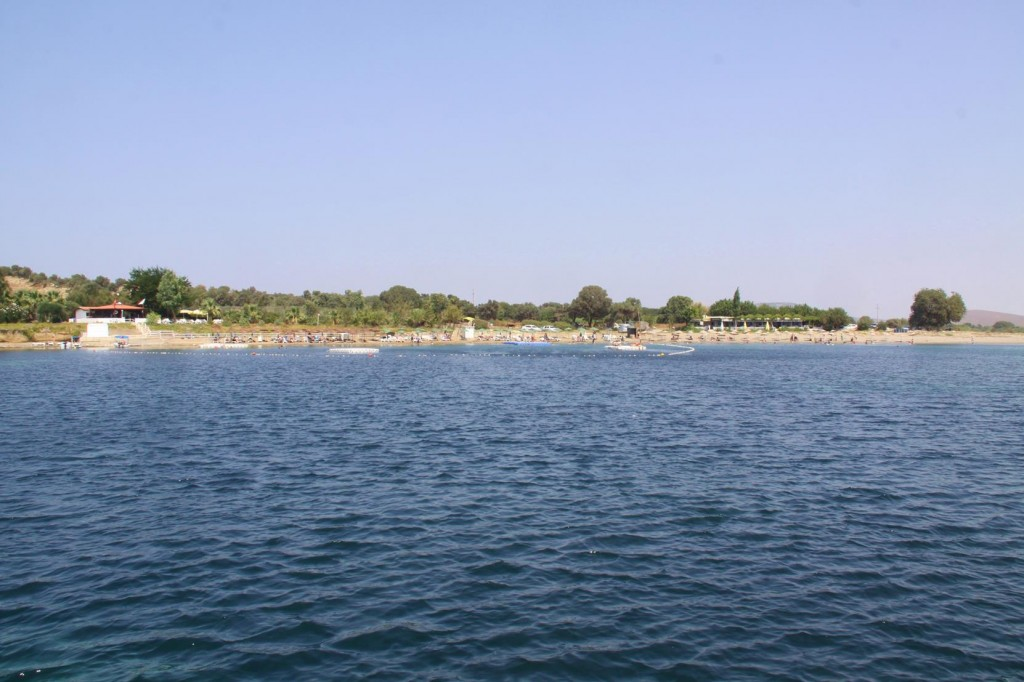 After Our last Swim in the Sea for a Week We Depart Teos Limani