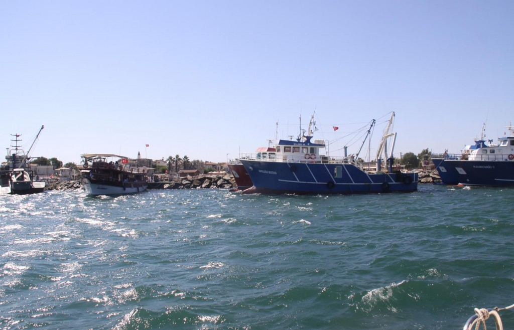 Some Larger Fishing Trawlers are also in Port Tonight