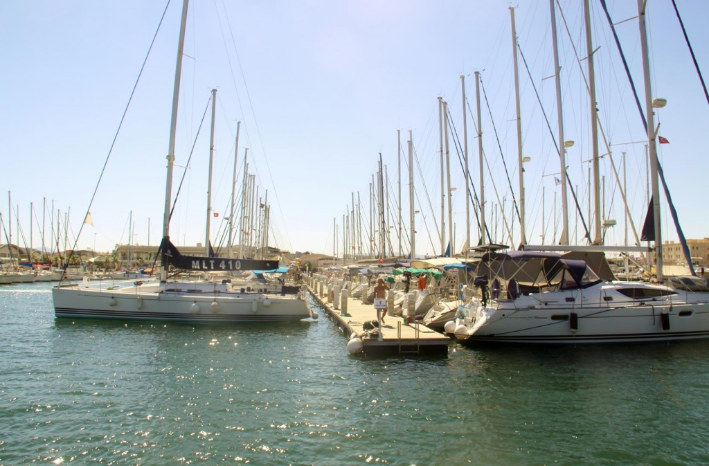 Most Spaces are Occupied in Parts of the Marina
