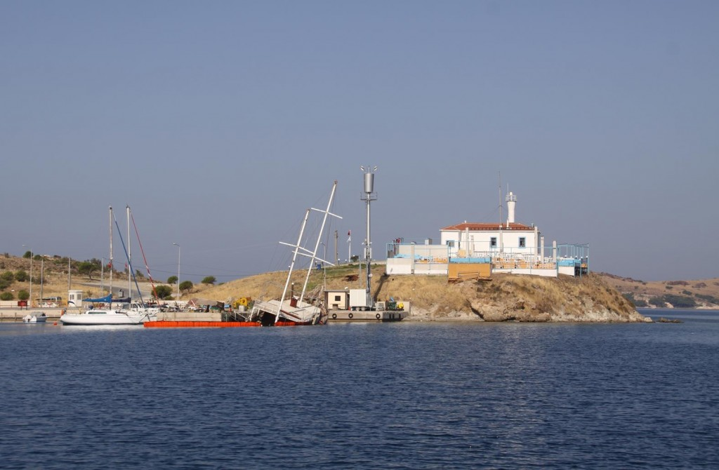 Hopefully on Our Return to Foca in the Future, this Vessel will be Afloat Once Again