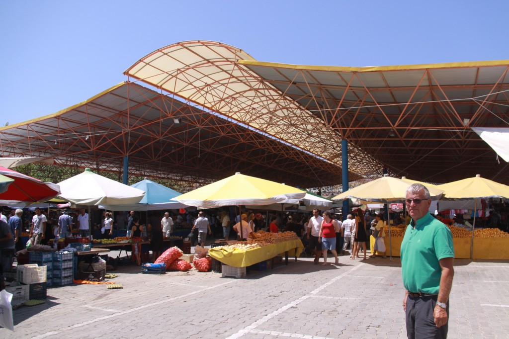 The Seferihisar Market which is Usually on Fridays Happened to be on Today, a couple of Days Earlier because of the Ramadan Holiday Weekend