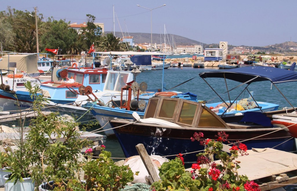 The Small Old Port is Home to All the Local Fishing Boats