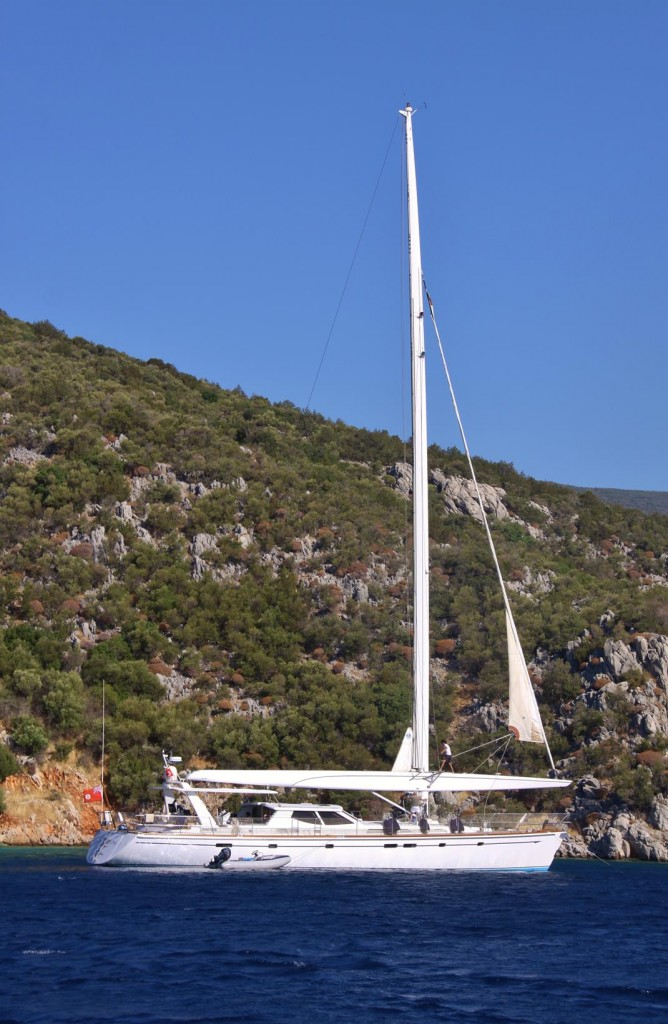 We Both remember Seeing this Yacht Last Year in Southern Turkey
