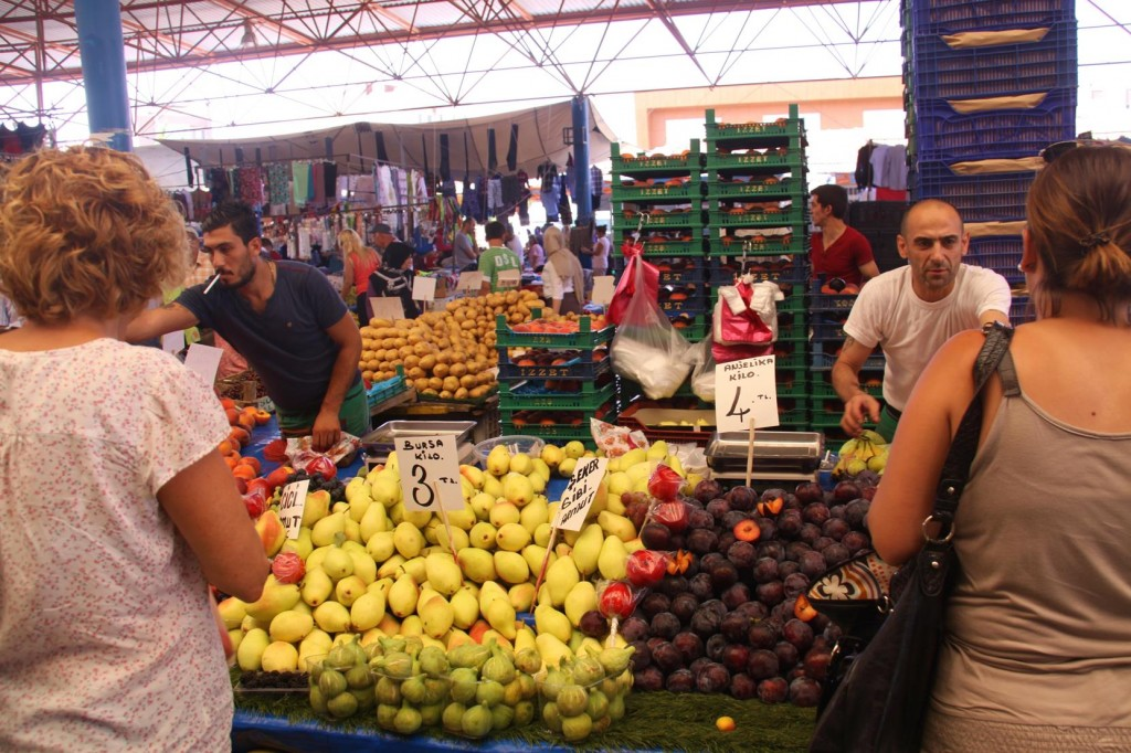 A Huge Variety of the Freshest Local Fruit and Vegetables are Available here