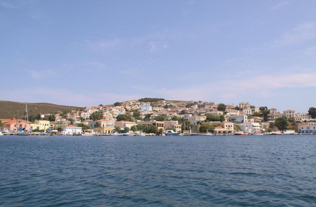 Goodbye to the Lovely Mandraki Harbour