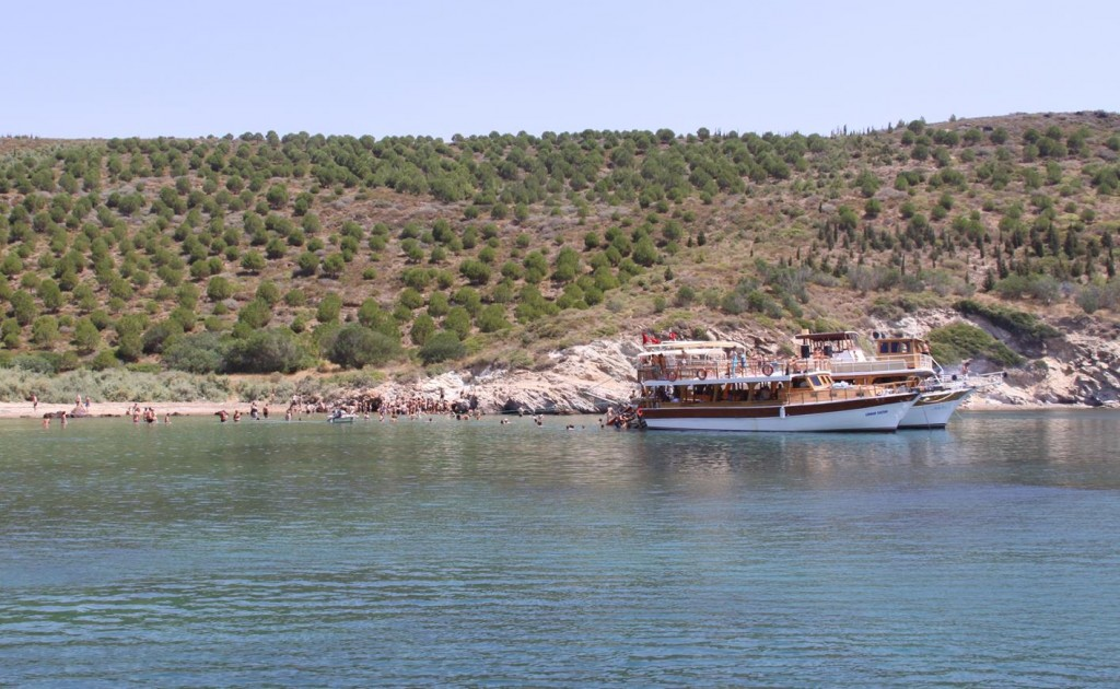 An Hour Later the Boats Moved to the Beach for Barbeque Lunch Aboard and More Hot Springs