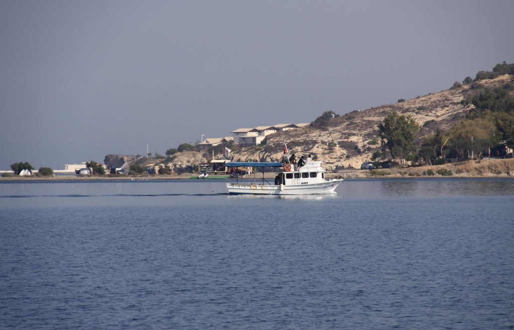Fishermen Returning to Port with their Catch of the Day