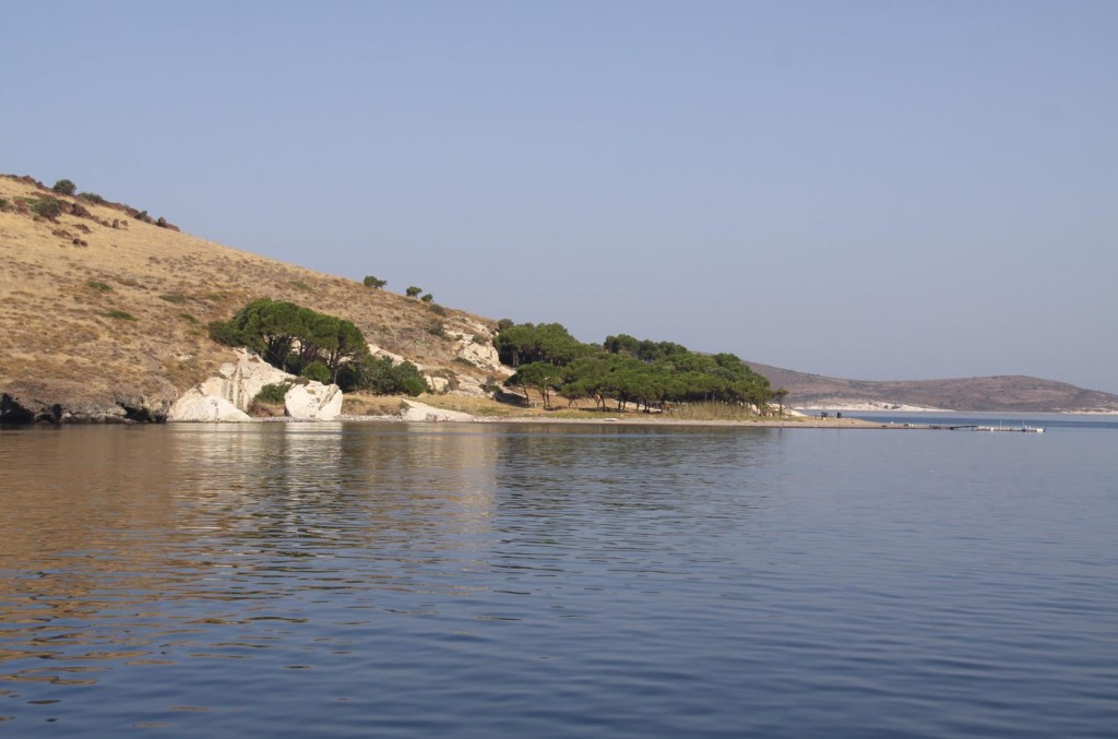 Incir Adasi is Where we Stopped for a Swim a Few Days Ago