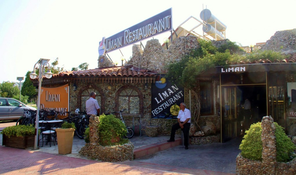 As Ric has a Very Early Start in the Morning, We Decided on a Late Afternoon Dinner at Liman Restaurant