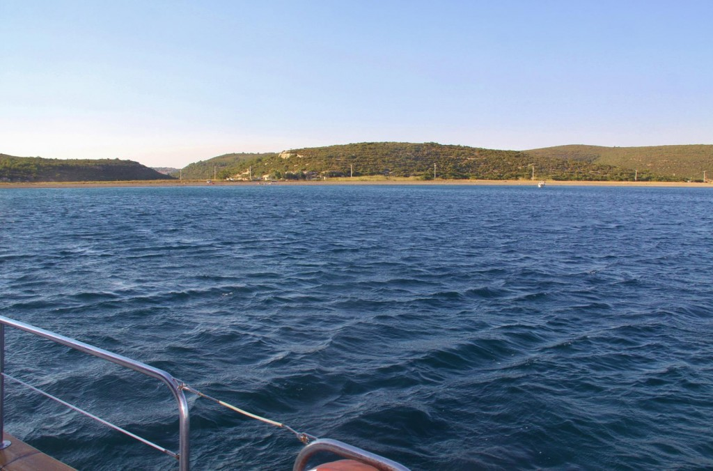 Our Overnight Mooring is Close to Sigacik in Azmak Limani
