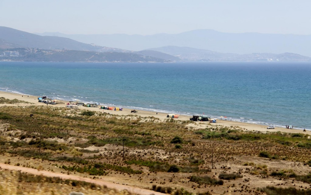 This Long Beach is a Popuar Camping and Motor Home Destination