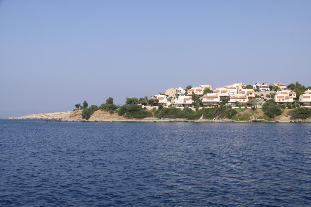 The Northern Point to Teos Limani with it's Desirable Homes