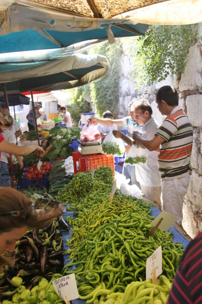 Sunday Market Day in Sigacik