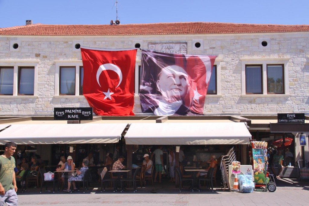 Photos of Ataturk are Displayed Literally Everywhere in Turkey
