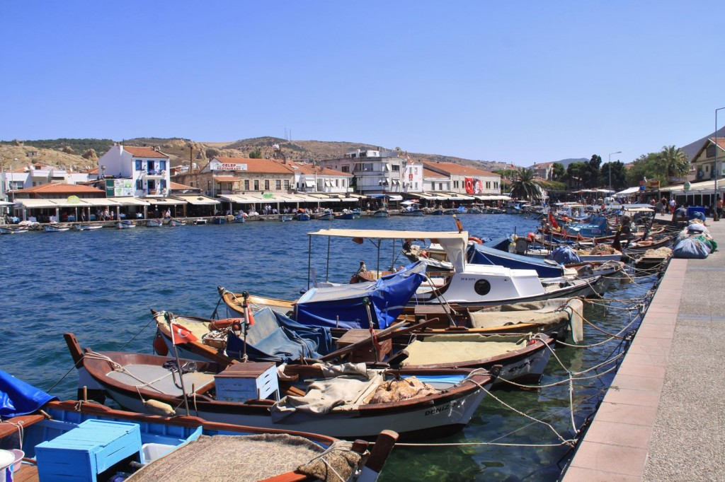 The Old Harbour is Surrounded by Restaurants and Cafes