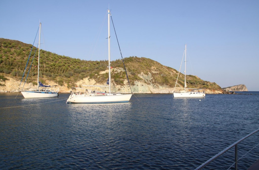 By Early Evening Another Couple of Yachts Arrived in Doganhey Limani for the Night