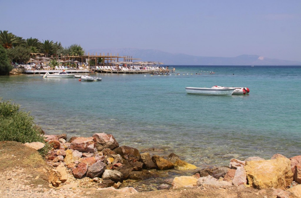Many Fine Hotels in the Cesme Area have Lovely Facilities by the Water