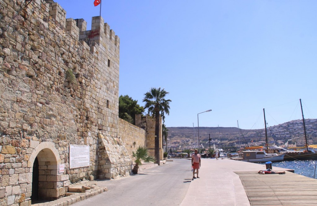 The Castle has had Numerous Restorations and in the 1500's Major Repairs were Done by the Ottomans