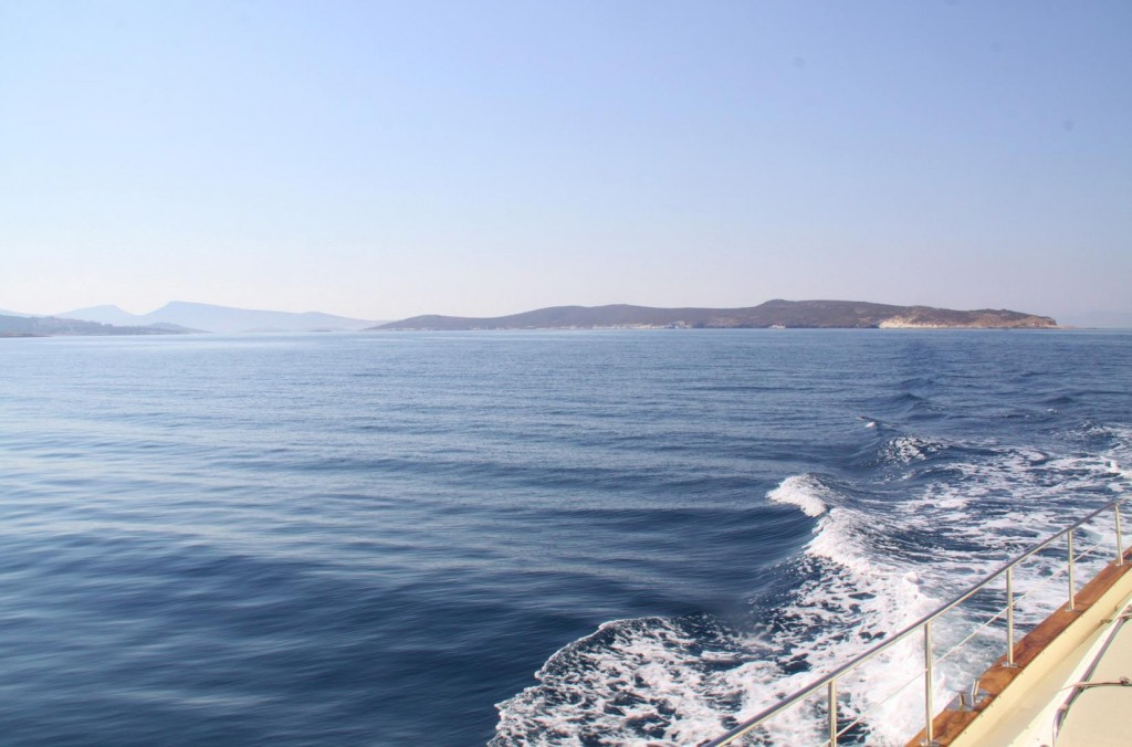 Looking Back Towards the Foca Peninsular and the Nearby Group of Stunning Islands