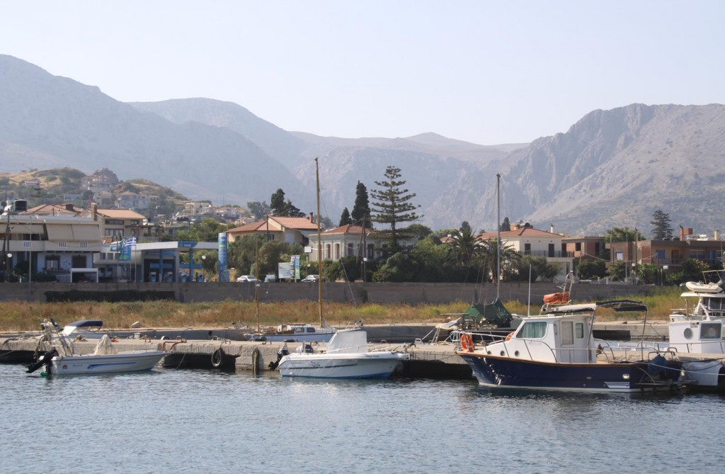 Some of the Local Boats have Taken Over Part of the  Run Down Marina