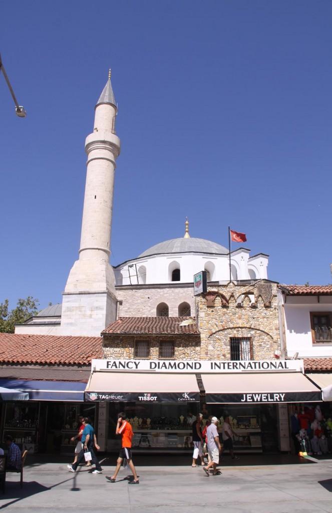 Every Bazaar has it's Own Mosque !