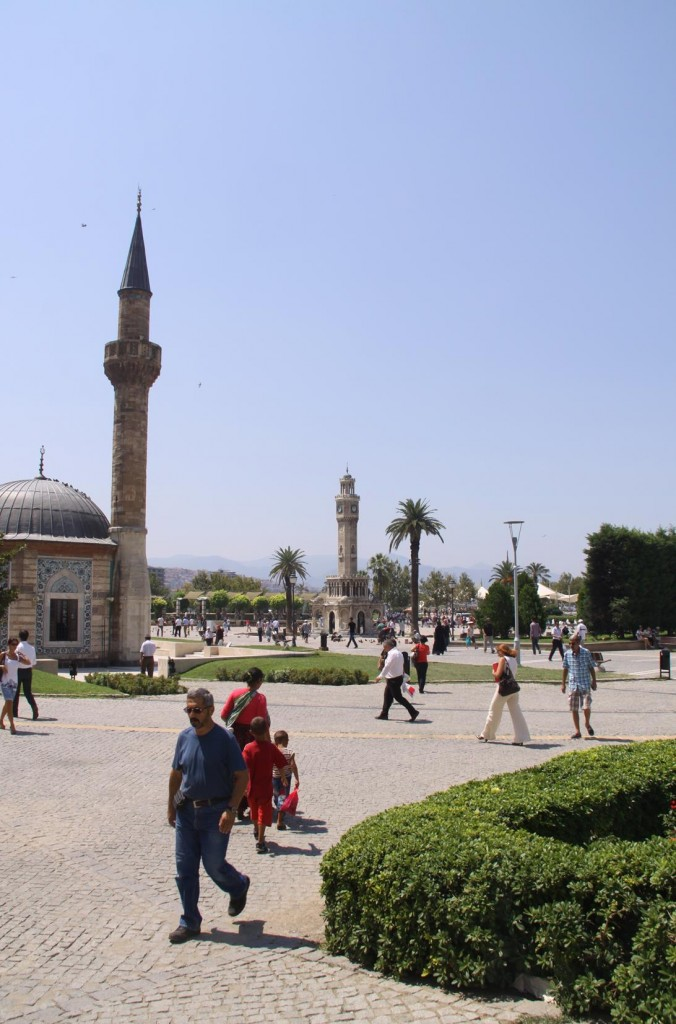 We Visit Konak Square in Izmir when we Arrive