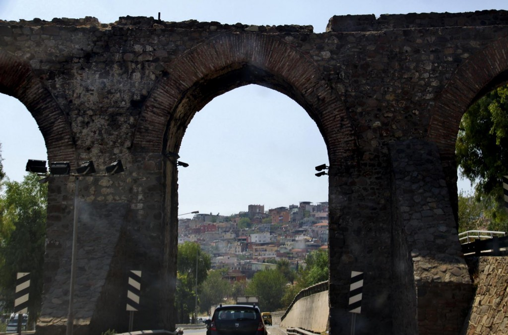 Remains of Ancient City Walls in Izmir